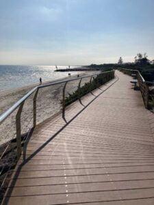 rehab actibvities at Mornington beach