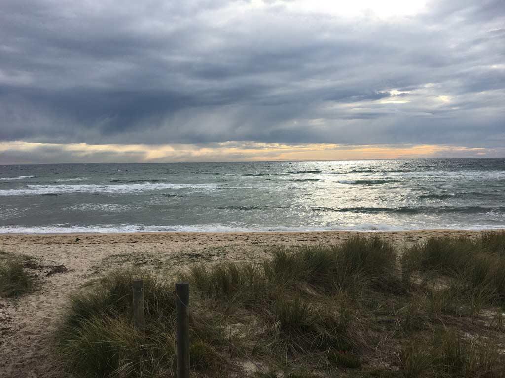 beach at Frankston