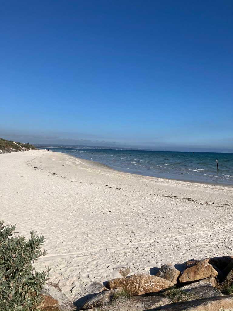 beach at Carrum rehab retreat in Victoria